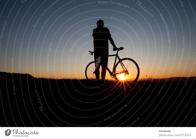 cyclistic Lifestyle Style Joy Vacation & Travel Trip Freedom Cycling tour Summer Sun Sports Fitness Sports Training Racecourse Human being Man Adults Body 1