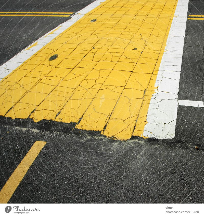 White Yellow Street Lanes & trails Gray Dirty Transport Arrangement Crazy Threat Idea Transience Protection Safety Cycling Asphalt