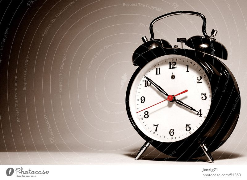 Time Clock Stress Date Alarm clock Arise