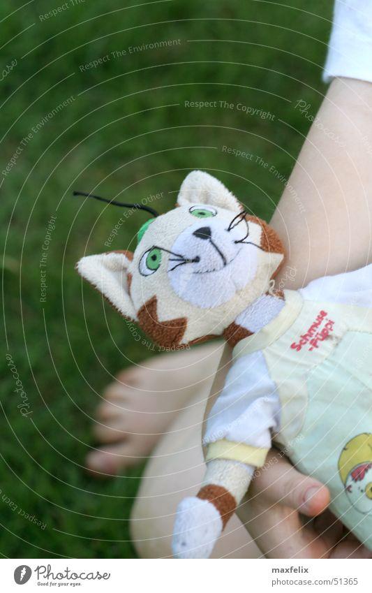 cuddly puppy Child Toys Playing Kater Findus Doll