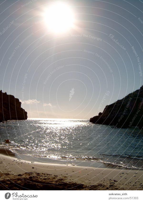 gate to the sea Beach Ocean Vacation & Travel Majorca Waves Sand Sun Sky