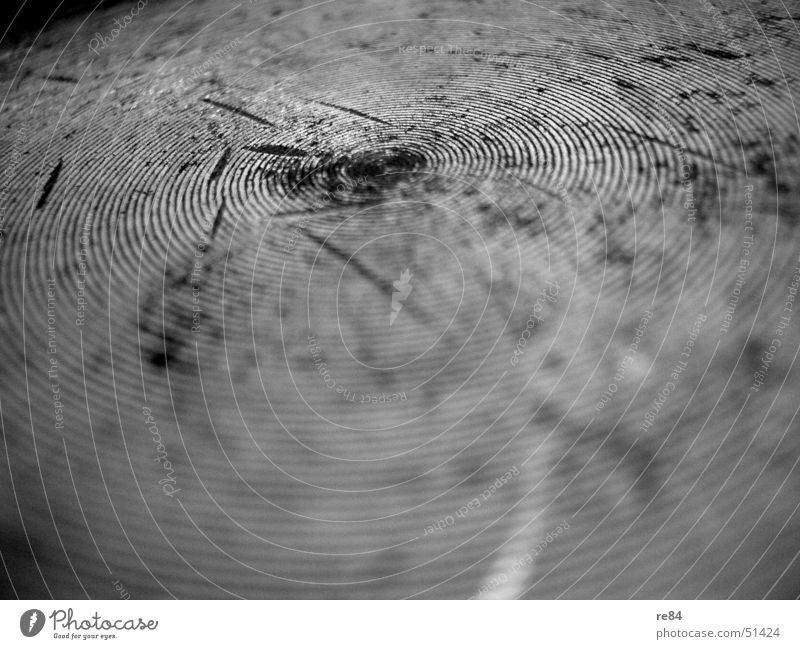 Fingerprint - The pot as a model Pot Pattern Spiral Round Circle Old Rust Patch Tracks Crack & Rip & Tear Cooking Close-up