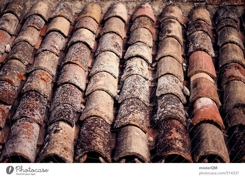 Esthetic Roof Village Brick France Symmetry Roofing tile Half-timbered house Pitch of the roof Brick red Tiled roof Brick construction