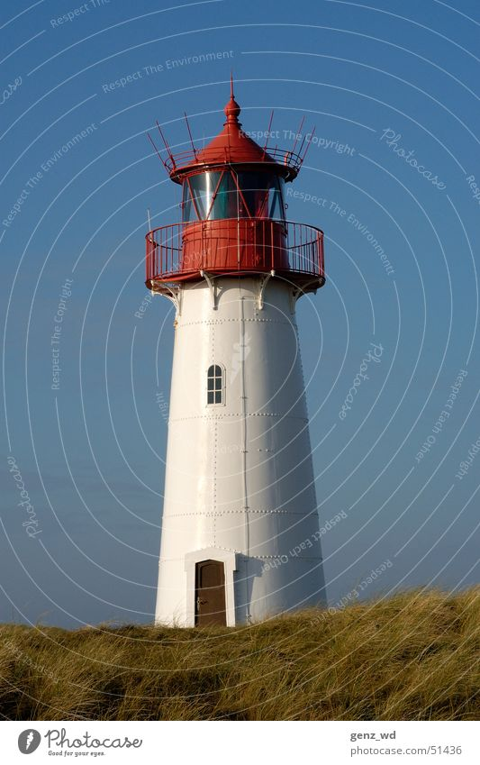 Germany's northernmost lighthouse Schleswig-Holstein Sylt Joint Lighthouse Beacon Astute