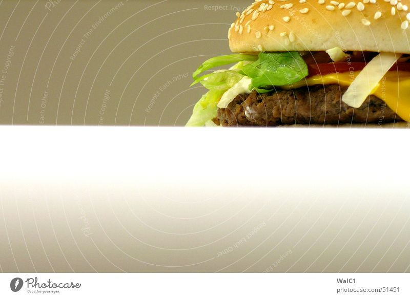 Snack in the corner Fast food Cheese Meat Ketchup Sesame Bread Roll Cheeseburger big Nutrition Lettuce Tomato Onion Dish