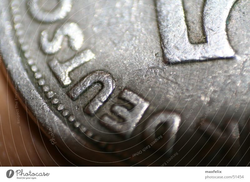 Old thaler Money Coin German penny Macro (Extreme close-up) Germany