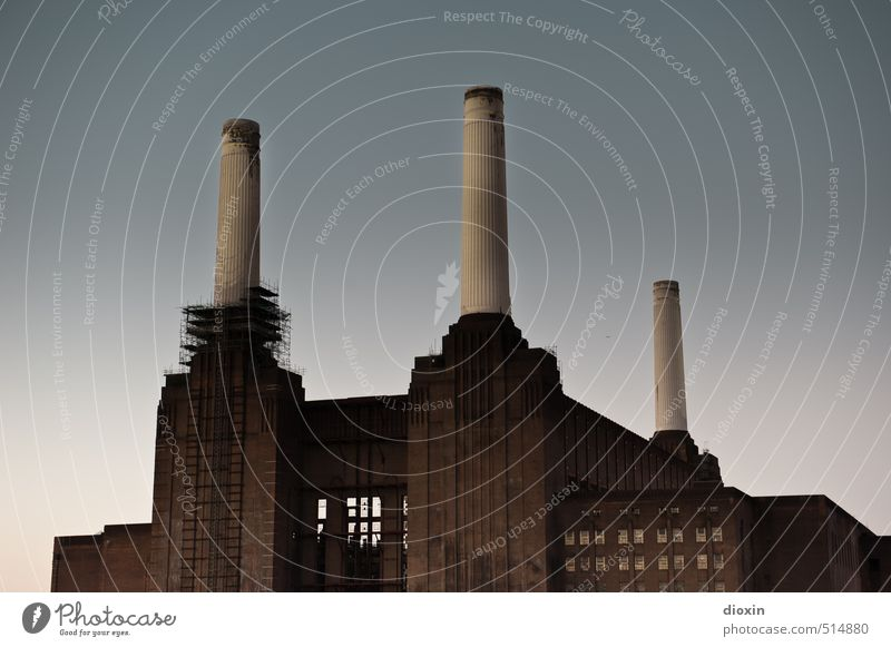 Battersea Power Station Vol.2 Sightseeing City trip Energy industry Coal power station London Great Britain Town Capital city Downtown Industrial plant Factory