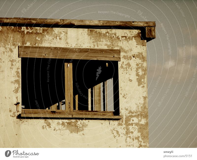 Loneliness House (Residential Structure) Window Architecture Concrete Tower GDR Nostalgia