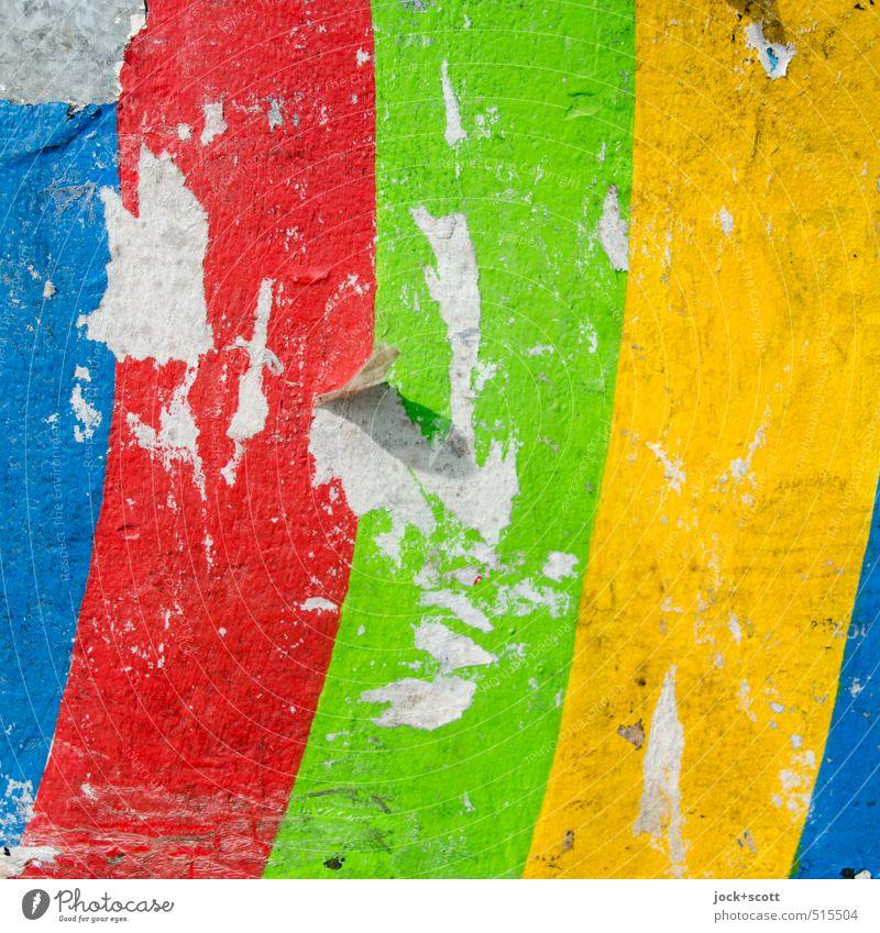 wonderful colours Colour Bright Design Illuminate Fresh Decoration Power Happiness Esthetic Joie de vivre (Vitality) Simple Retro Uniqueness Paper Broken Stripe