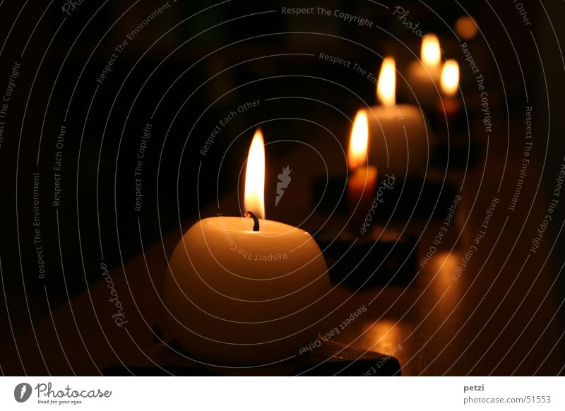 Joy Calm Dark Warmth Bright Multiple Candle Peace Row Many Cozy Flame Safety (feeling of) Illuminate Carrying Glow