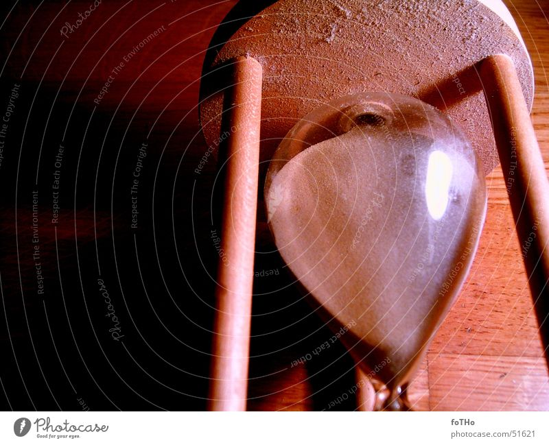 Time 2 Hourglass Wood Sand Glass