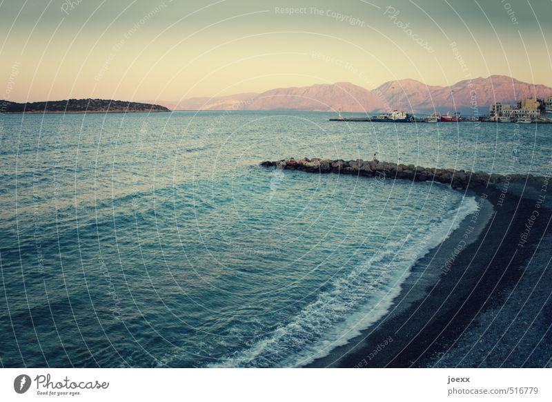 Human being Woman Vacation & Travel Blue Beautiful White Summer Ocean Beach Far-off places Black Yellow Adults Mountain Feminine Coast