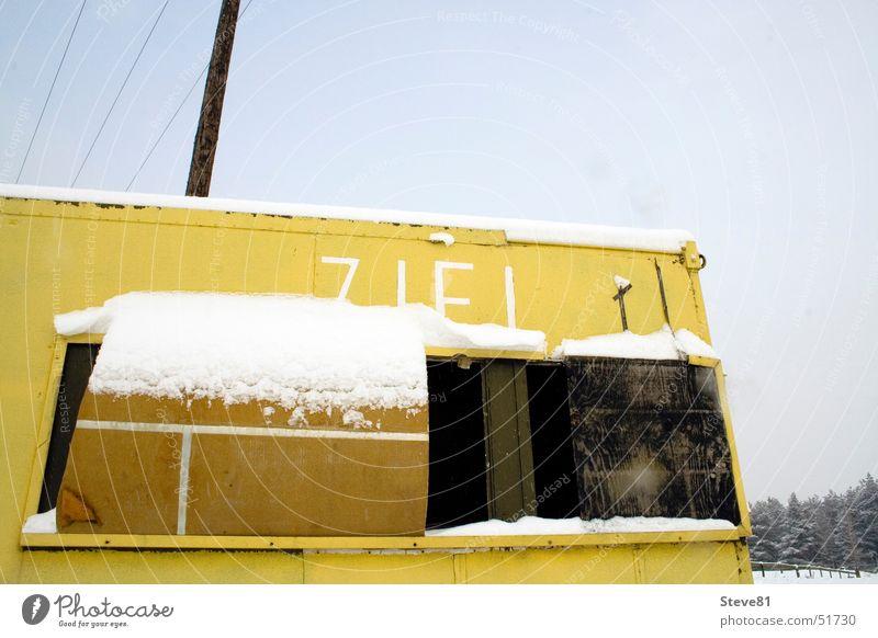 Sky Winter Snow Building Landscape Target Hut Tin Apocalypse