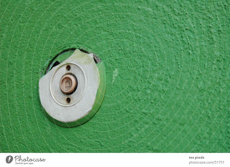 Green Buttons Bell
