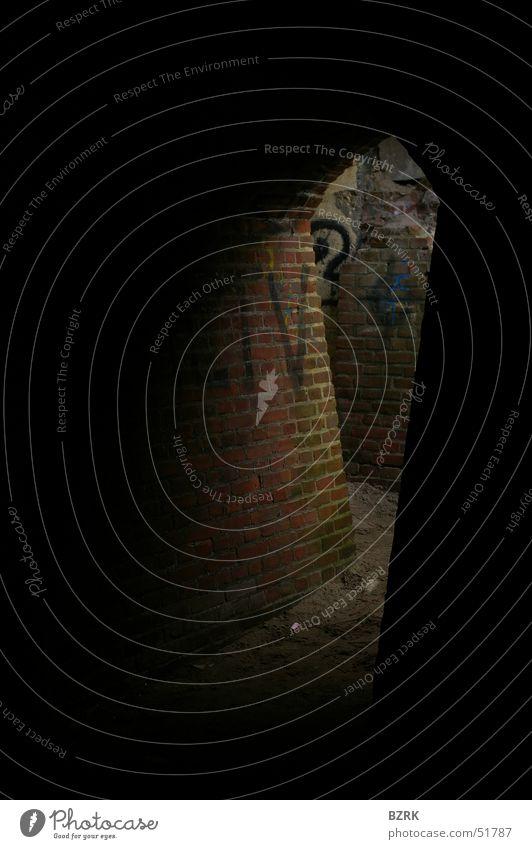 Bunker atmosphere Light Brick Dugout Beam of light Corner lightbeam bricks