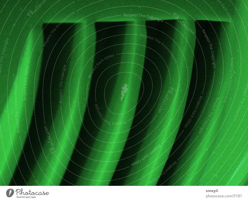Green Footbridge Disk Slit Macro (Extreme close-up) Ventilation