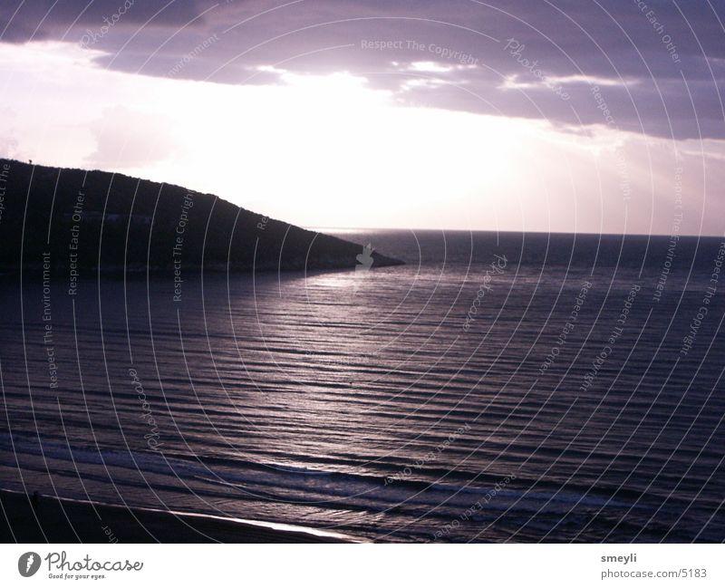 Water Sun Ocean Beach Calm Mountain Moody Waves Coast Rock Romance Violet