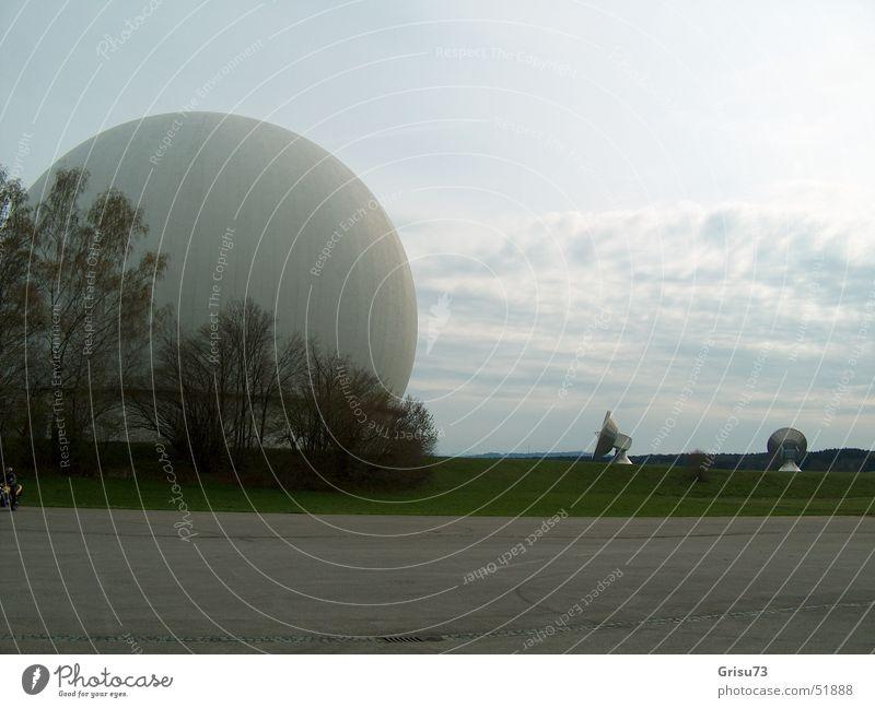 Ground station Raisting Radio technology Satellite Satellite dish Deutsche Telekom Upper Bavaria Antenna Building Moon landing Investigation Astronautics