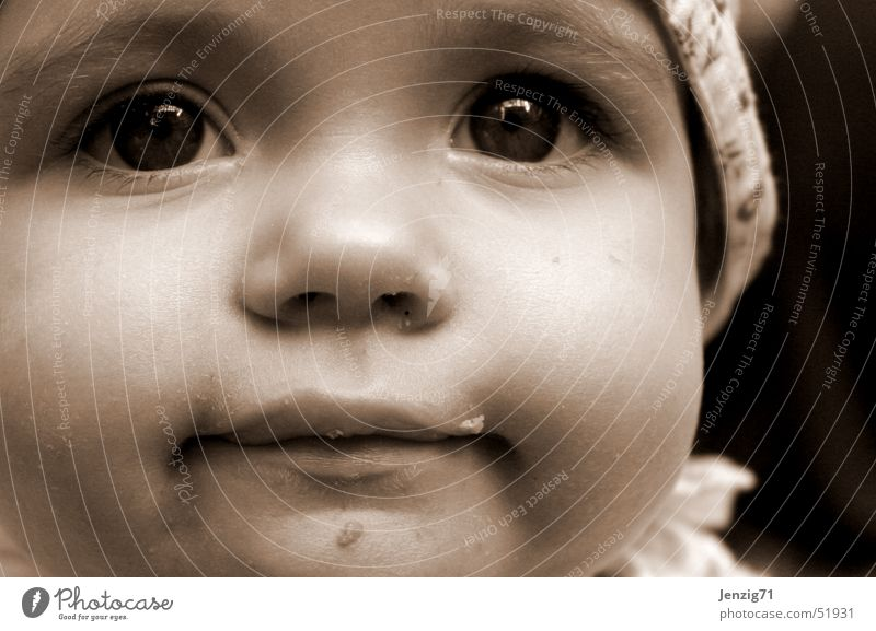 Hermione. Portrait photograph Baby Child Face eyes nose Mouth