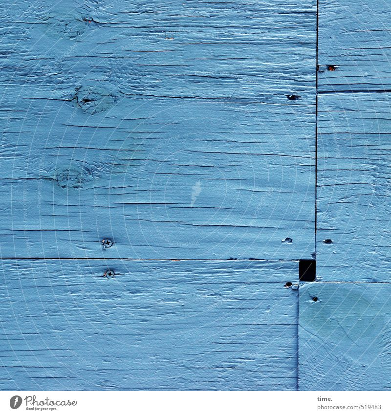 Blue City Wall (building) Wall (barrier) Wood Facade Arrangement Transience Corner Change Safety Protection Construction site Attachment Services Craft (trade)