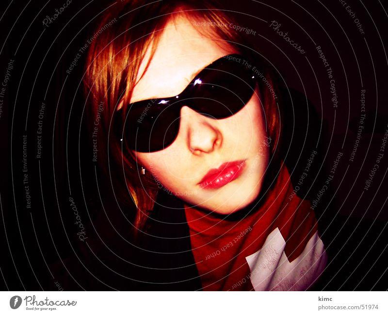 Woman Feminine Style Mouth Cool (slang) T-shirt Eyeglasses Switzerland Sunglasses