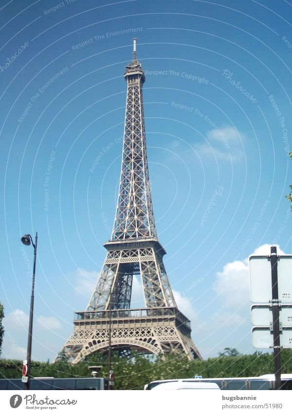 Vacation & Travel Art Tower Paris France Sightseeing Tourist Attraction