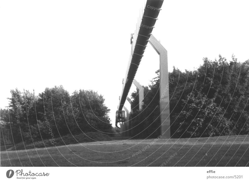 h-railway Overhead track Dortmund Mono rail Academic studies university dortmund