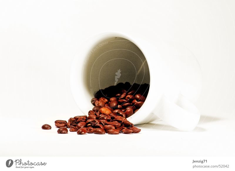 White Cooking & Baking Beverage Coffee Hot Cup Beans Coffee bean Mince