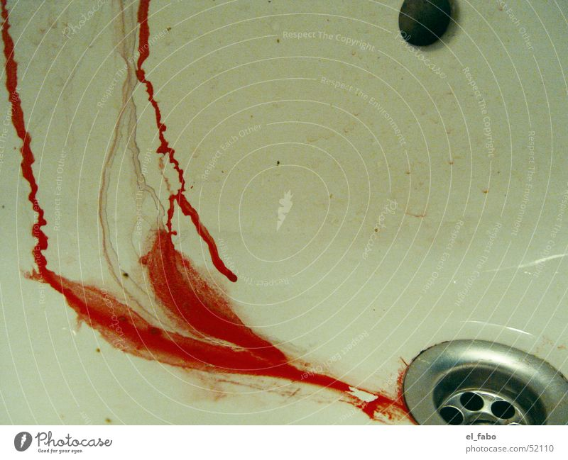 Colour Red Blood Drainage Intensive Sink Harm Runlet Melt away Seep