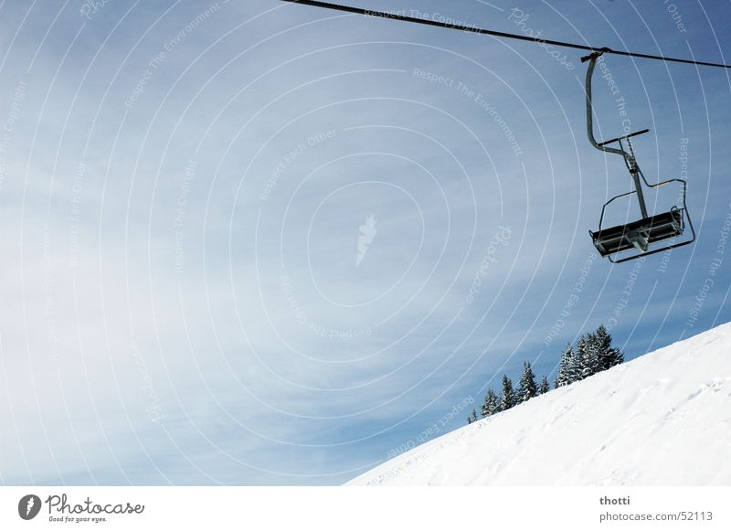 Snow Rope Alps Climbing Mountaineering Winter sports Chair lift Wire cable