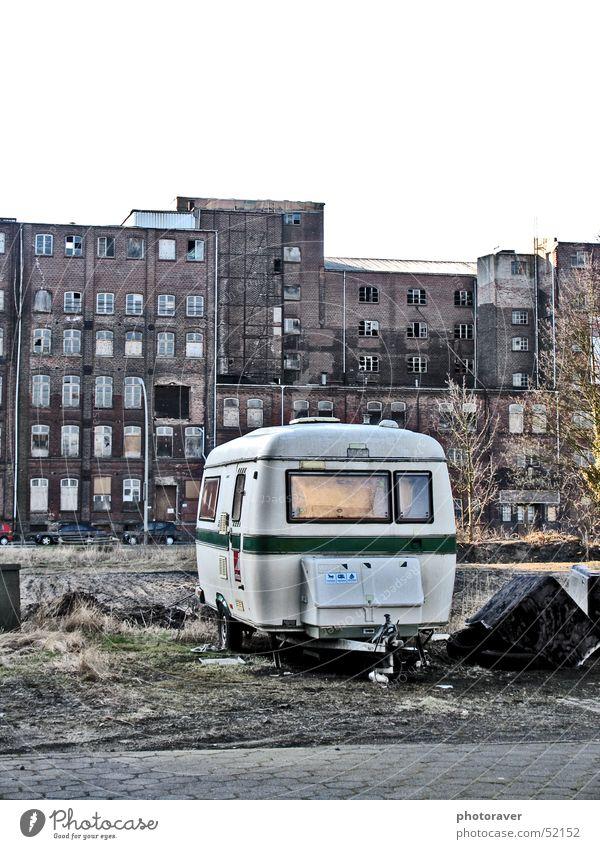 The Dutch are here:-) Caravan Retro Old-school Ghetto Ruin Sofa Broken Window ruienen Loneliness Dirty
