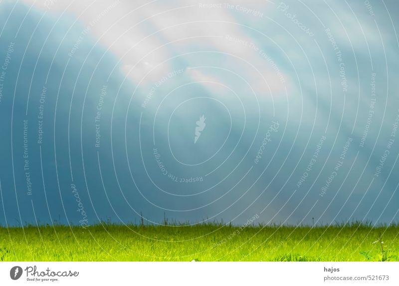 "sunrays Nature Landscape Clouds Sun Weather Meadow Green Moody Mysterious Idyll Sky Mystic Cloud cover ""Sun,"" ""dark,"" secretive Colour photo Exterior shot"