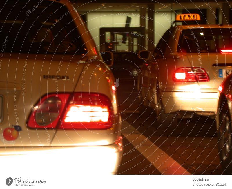 Taxi Traffic jam