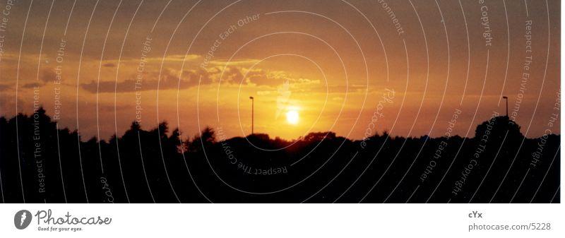 sunset to the xten Sunset Light Horizon Evening