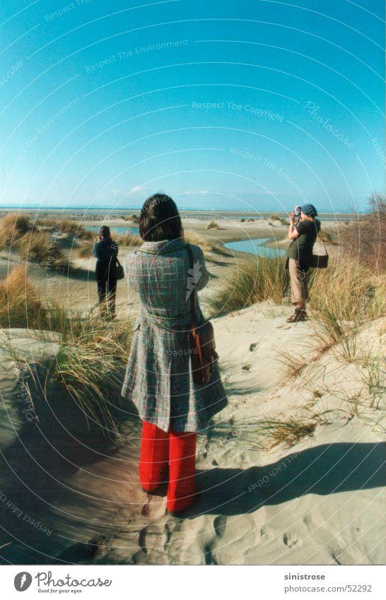 Woman Sun Ocean Beach Vacation & Travel Room Coast Photography France Beach dune Tourist