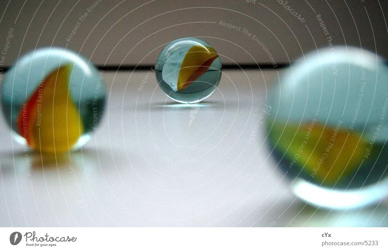 Far-off places Glass Perspective Round Sphere Middle Marble