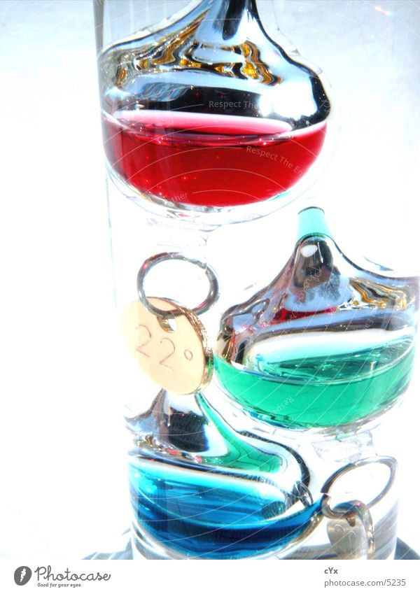 Is it warm? Cold Hot Multicoloured Style Degrees Celsius Things galileo galilei Thermometer Glass Fluid Water Bright