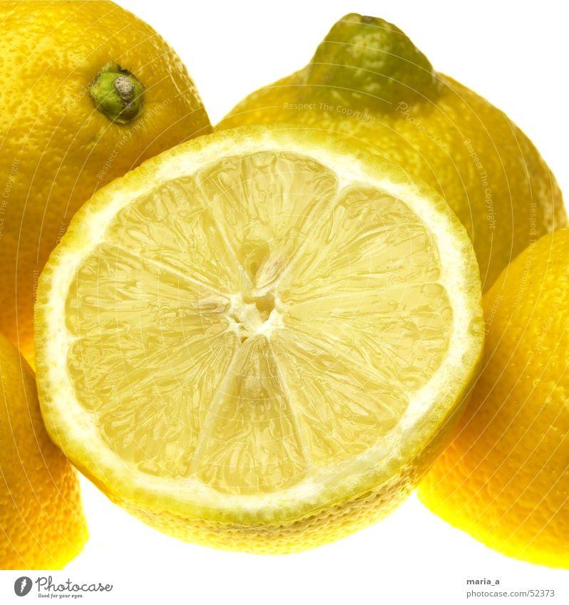 Yellow Healthy Funny Fruit Anger Vitamin Kernels & Pits & Stones Lemon Juicy Fruity Vitamin C