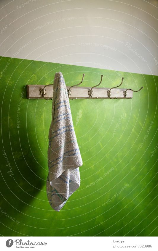 Green White Calm Swimming & Bathing Style Moody Living or residing Lifestyle Design Esthetic Uniqueness Bathroom Wellness Personal hygiene Hang Positive