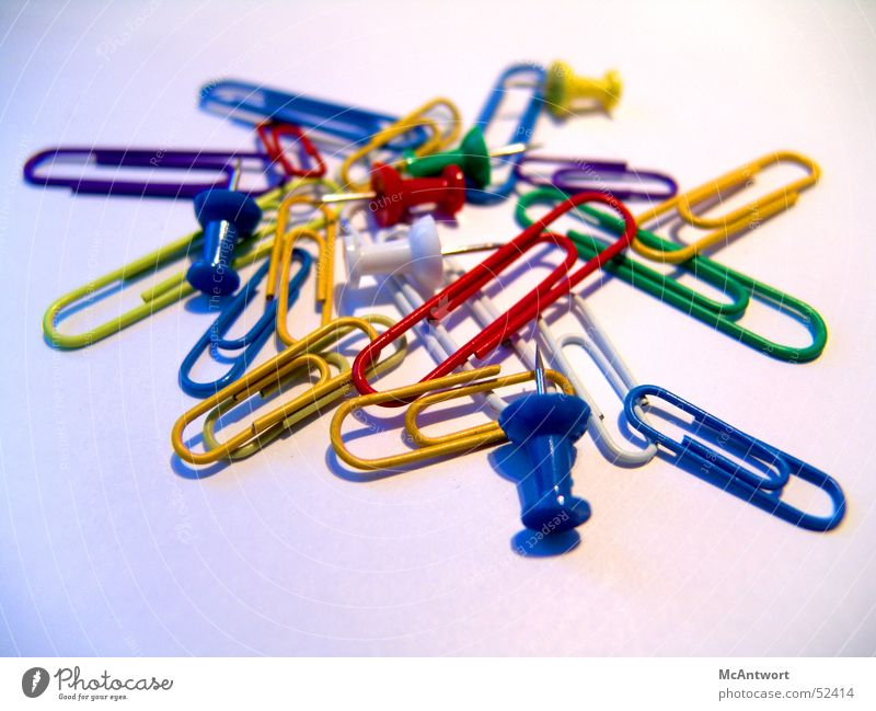 office chaos Holder Paper clip Pin Staple