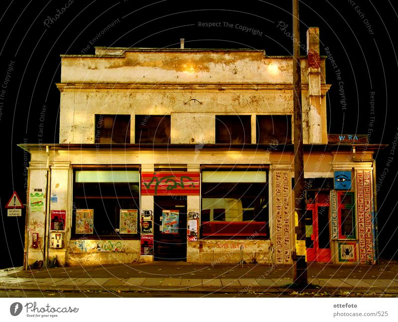 Graffiti Architecture Store premises Derelict Leipzig Supermarket Art Markets