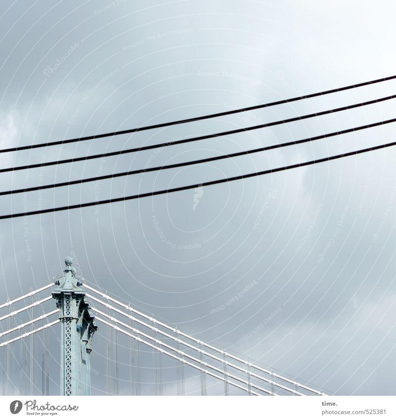 Sky City Clouds Lanes & trails Moody Energy industry Arrangement Perspective Esthetic Technology Bridge Uniqueness Cable Logistics Concentrate Attachment