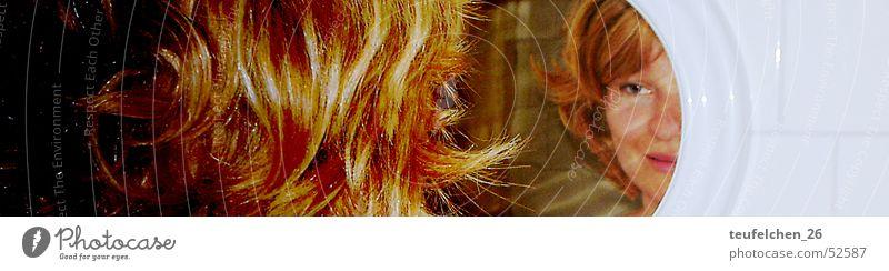 Woman Eyes Hair and hairstyles Mirror Self-awareness
