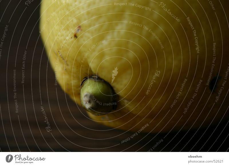 lemon Lemon Yellow Brown Detail Macro (Extreme close-up)
