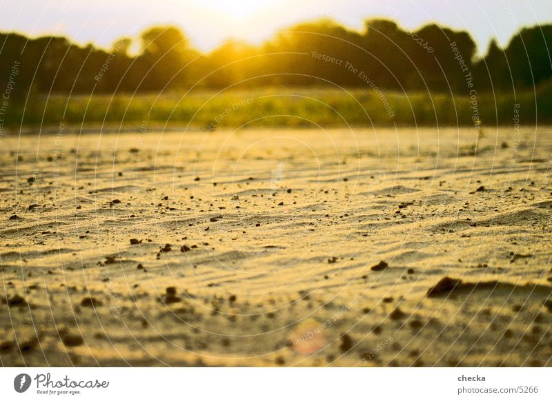 sandy desert Beach Sunset Sand Desert