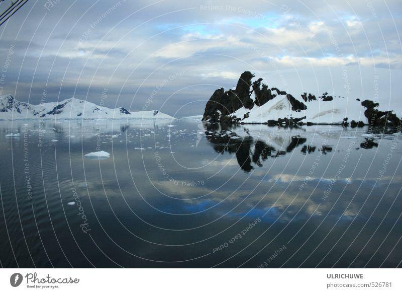 Nature Blue Water Ocean Calm Moody Ice Climate Esthetic Elements Adventure Frost Snowcapped peak Glacier Senses Fjord