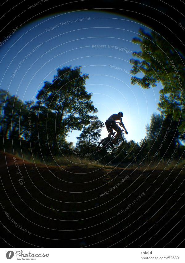 dirtbiker Fisheye Jump BMX bike Mountain biking