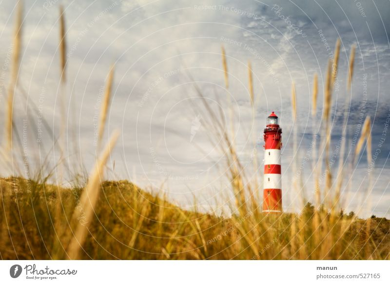 Nature Vacation & Travel Landscape Architecture Island Manmade structures North Sea Tourist Attraction Lighthouse