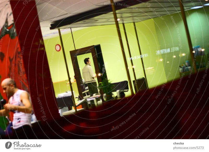 Colour Business Room Living or residing Interior design Store premises Services Diagonal Hairdresser Management Shop window Hair Stylist