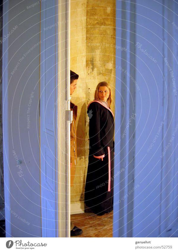 181 Hamburg Photo shoot Villa Lovers Looking Swing door Interior shot Fashion collection Pattern behind the kullisen making of